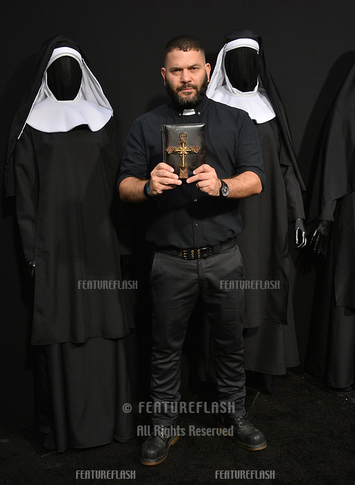 """LOS ANGELES, CA. September 04, 2018: Guillermo Diaz at the world premiere of """"The Nun"""" at the TCL Chinese Theatre, Hollywood."""