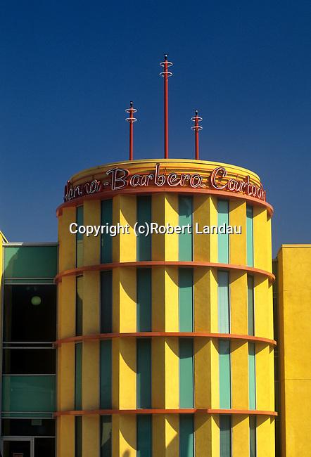 Headquarters of Hanna Barbera animation studio in Studio City, CA