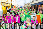 Born to Run at Tralee Saint Patrick's day parade on Tuesday.