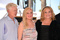 LOS ANGELES, CA. August 29, 2019: Kirsten Dunst, Klaus Dunst & Inez Rupprecht at the Hollywood Walk of Fame Star Ceremony honoring Kirsten Dunst.<br /> Pictures: Paul Smith/Featureflash