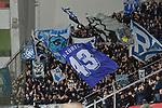 08.11.2018, BayArena, Leverkusen, Europaleque, Vorrunde, GER, UEFA EL, Bayer 04 Leverkusen (GER) vs. FC Zuerich (SUI),<br />  <br /> DFL regulations prohibit any use of photographs as image sequences and/or quasi-video<br /> <br /> im Bild / picture shows: <br /> mitgereiste Fans der Schweizer <br /> Foto &copy; nordphoto / Meuter<br /> <br /> <br /> <br /> Foto &copy; nordphoto / Meuter