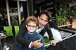 Ricky Paull Goldin and Kameron at All My Children's Good Night Pine Valley was held on September 17, 2011 at Prohibition, New York City, New York.  (Photo by Sue Coflin/Max Photos)