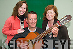 MAKING MUSIC: Musician Aidan O'Carroll organising the first Trdaitional Music.and Set Dancing Festival in Castlegregory village this July. From l-r were: Jennie.Clark, Benny O'Carroll and Susan James.