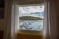 Spain, Costa Brava, Catalonia, Cadques. Port Lligat, Salvador Dali's house.