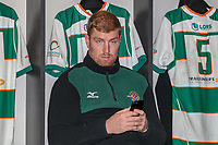 Ben WEST of Ealing Trailfinders ahead of the Championship Cup match between Ealing Trailfinders and Richmond at Castle Bar , West Ealing , England  on 15 December 2018. Photo by David Horn.