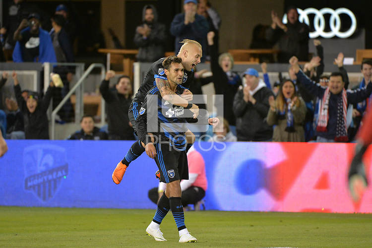 San Jose, CA - Saturday June 09, 2018: Chris Wondolowski during a Major League Soccer (MLS) match between the San Jose Earthquakes and Los Angeles Football Club at Avaya Stadium.