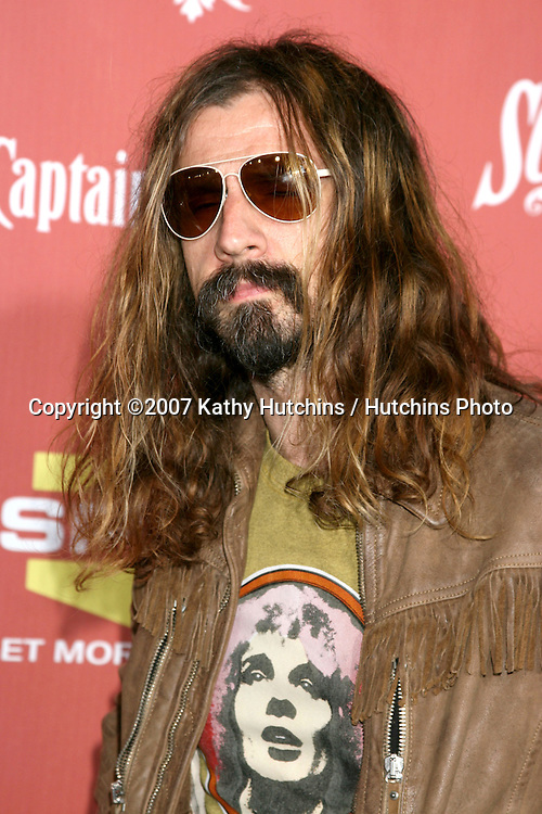 """Rob Zombie.Spike TV's """"Scream 2007"""" Awards.The Greek Theater.Los Angeles,  CA.October 19, 2007.©2007 Kathy Hutchins / Hutchins Photo...               ."""