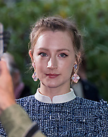 Saoirse Ronan<br /> &ldquo;On Chesil Beach&rdquo; film premiere at Embankment Garden Cinema, London, England on October 8th, 2017.<br /> CAP/JOR<br /> &copy;JOR/Capital Pictures