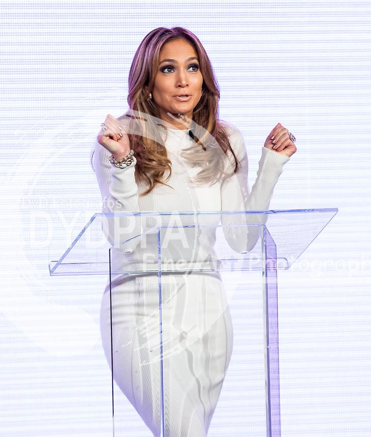 Jennifer Lopez. 22 05 2013. las Vegas. Nevada. Verizon. Viva movil by Jennifer Lopez. Photo by Media Punch/Unimedia Images/ DyD Fotografos