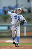 June 5, 2010: Trevor Bauer of UCLA during NCAA Regional game against LSU at Jackie Robinson Stadium in Los Angeles,CA.  Photo by Larry Goren/Four Seam Images