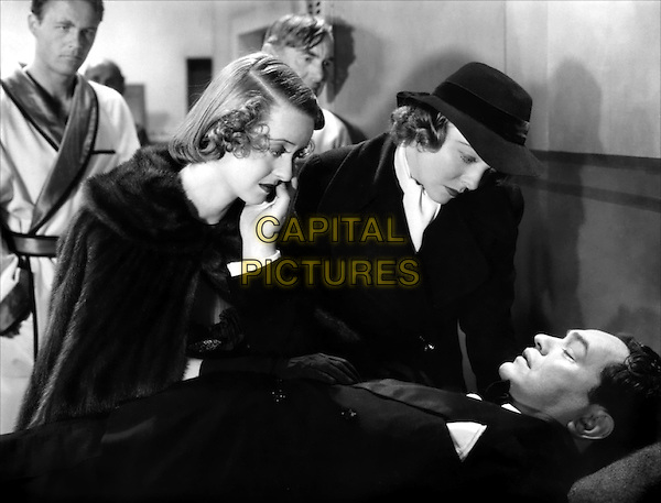 (L to R) Wayne Morris, Bette Davis, Unknown, Jane Bryan, Edward G. Robinson.in Kid Galahad.*Filmstill - Editorial Use Only*.CAP/PLF.Supplied by Capital Pictures.
