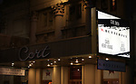 Theatre Marquee for  the Broadway Opening Night performance of 'M. Butterfly' starring Clive Owen and Jin Ha on October 26, 2017 at Cort Theater in New York City.