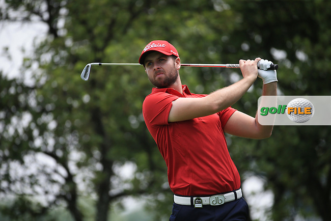 Ruaidhri McGee (IRL) plays down the 4th on the West Course during Round 2 of the 2016 Joburg Open Celebrating 10 years, played at the Royal Johannesburg and Kensington Golf Club, Gauteng, Johannesburg, South Africa.  15/01/2016. Picture: Golffile | David Lloyd<br /> <br /> All photos usage must carry mandatory copyright credit (&copy; Golffile | David Lloyd)