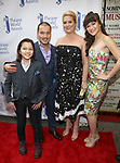 Jon Jon Briones and family attend the 73rd Annual Theatre World Awards at The Imperial Theatre on June 5, 2017 in New York City.