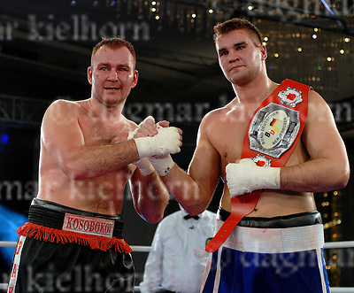 Fighter with belt,BDB International German Heavyweight Championship 2008,Aleksejs Kosobokovs (Riga/ Latvia) looses vs Steffen Kretschman (Halle/ Germany), March 11th, 2008,Maritim Hotel, Halle/Saale,Germany