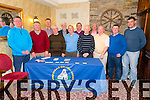 21st Anniversary Launch Night of the Abbeyfeale Golfing Society 1994-2015 held in Leen's Hotel Abbeyfeale.<br /> Abbeyfeale Golf Society would like to thank all sponsors down through the years, without your help and the fantastic members that we have the golf society wouldn't be what it is today. <br /> <br /> Pictured are 12 Captions, previous and present. Pictured L-R: James McAuley(Current Caption), Jerry Murphy(2013), Mike O'Shea(2014), Teddy Sullivan(2005), Tim Kelly(2010), Geoffery Fitzgerald(2004), Eamon Scannell(2003), Jack Fitzgerald(1998), Jim Kelly(2012), John Geoghegan(2011), Ger Foley(2007), Kevin Foley(Vice-Captain).