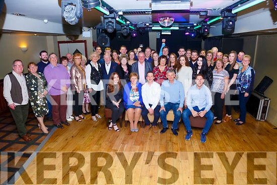 Jeffrey Quirke seated front centre from Cahersiveen celebrated his 30th birthday with family and friends at the Kerry Coast Hotel on Saturday night.