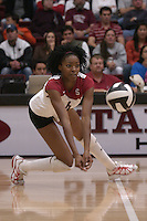 27 October 2005: Franci Girard during Stanford's 3-0 win over Oregon in Stanford, CA.