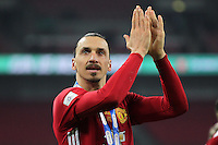 Zlatan Ibrahimovic of Manchester United <br /> Londra Wembley Stadium Southampton vs Manchester United - EFL League Cup Finale - 26/02/2017 <br /> Foto Phcimages/Panoramic/Insidefoto