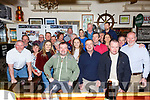 Alan Egan seated front from Knightstown, Valentia celebrated his 50th birthday with family and friends in Bostons Bar on Saturday night.