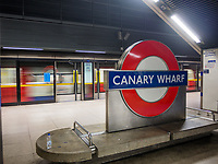 Jubilee line in the new tube in Canary Wharf on Juanary 20, 2019, in London, Italy. (Photo by Adamo Di Loreto/BuenaVista*photo)