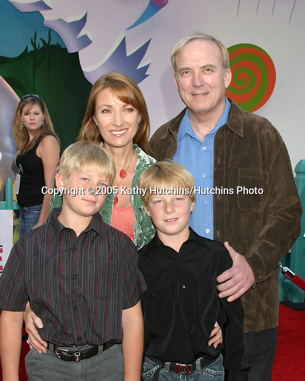 Jane Seymour , James Keach.sons.Chicken Little Premiere.El Capitan Theater.Los Angeles, CA.October 30, 2005.©2005 Kathy Hutchins / Hutchins Photo