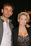 General Hospital's actors James Patrick Stuart & Maura West on October 5, 2019 at the Hollywood Casino, Columbus, Ohio with a Q & A and a VIP meet and greet. (Photo by Sue Coflin/Max Photo)