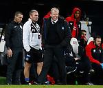 Steve McClaren manager of Newcastle United smiles as he enjoys the win - English Premier League - Newcastle Utd vs Liverpool - St James' Park Stadium - Newcastle Upon Tyne - England - 6th December 2015 - Picture Simon Bellis/Sportimage