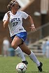 30 August 2009: Duke's Marybeth Kreger. The Duke University Blue Devils lost 3-2 to the University of Central Florida Knights at Fetzer Field in Chapel Hill, North Carolina in an NCAA Division I Women's college soccer game.