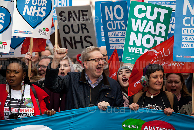 Len McCluskey (British trade unionist who was the General Secretary of Unite from 2011 until his resignation in December 2016).<br />