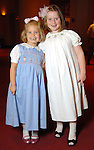 Rose Barry,5, and Emily Condrey,6, at the opening night of The Nutcracker at the Wortham Theater Friday Nov. 27,2009. (Dave Rossman/For the Chronicle)