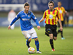 Partick Thistle v St Johnstone....21.01.14   SPFL<br /> Chris Millar<br /> Picture by Graeme Hart.<br /> Copyright Perthshire Picture Agency<br /> Tel: 01738 623350  Mobile: 07990 594431