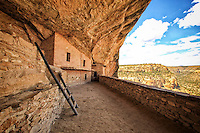 Balcony House View - Colorado - Mesa Verde National Park