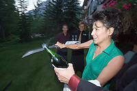 Kananaskis Country, Alberta, Canada, August 2008. The Delta Lodge at Kananaskis, is a luxury base for exploring the region. The Kananaskis is a tranquil and green part of the Rocky Mountains. Away from the masses it offers many outdoor adventure possibilities. Photo by Frits Meyst/Adventure4ever.com
