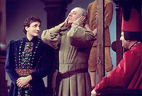 "- Dario Fo in the comedy ""Christopher Columbus"" (1977)....- Dario Fo nella commedia  ""Cristoforo Colombo"" (1977)"