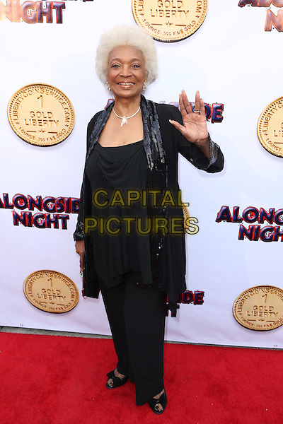 LOS ANGELES, CA - JULY 14: Nichelle Nichols at the special screening for the film, 'Alongside NIght' in Los Angeles, California on July 14, 2014. <br /> CAP/MPI/MPI86<br /> &copy;MPI86/MPI/Capital Pictures