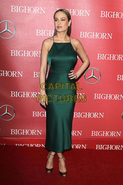 PALM SPRINGS, CA - JANUARY 2: Brie Larson at the 27th Annual Palm Springs International Film Festival Awards Gala at Palm Springs Convention Center on January 2, 2016 in Palm Springs, California. <br /> CAP/MPI24<br /> &copy;MPI24/Capital Pictures