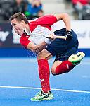 LONDON -  Unibet Eurohockey Championships 2015 in  London.  Spain v Belgium (0-3) . WSP Copyright  KOEN SUYK