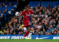 Georginio Wijnaldum of Liverpool during the Premier League match between Chelsea and Liverpool at Stamford Bridge, London, England on 22 September 2019. Photo by Liam McAvoy / PRiME Media Images.
