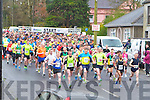KINGDOM 10KM RUN: The start of the An Riocht Lee Strand Kingdom 10km & 5Km run/walk in Castleisland on Sunday.