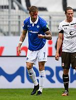 Felix Platte (SV Darmstadt 98) mit Platzwunde <br /> - 23.05.2020: Fussball 2. Bundesliga, Saison 19/20, Spieltag 27, SV Darmstadt 98 - FC St. Pauli, emonline, emspor, v.l. <br /> <br /> Foto: Florian Ulrich/Jan Huebner/Pool VIA Marc Schüler/Sportpics.de<br /> Nur für journalistische Zwecke. Only for editorial use. (DFL/DFB REGULATIONS PROHIBIT ANY USE OF PHOTOGRAPHS as IMAGE SEQUENCES and/or QUASI-VIDEO)