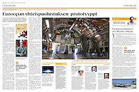 Helsingin Sanomat (leading Finnish daily) on the European military transport airbase of P&aacute;pa, Hungary, August 2016<br />