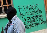 Autodefensas en Oaxaca. Pocos días de lucha.