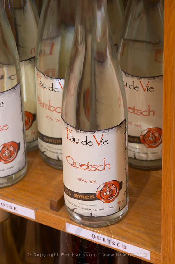wine shop eau de vie quetsch dom paul zinck eguisheim alsace france