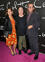 LOS ANGELES, CA. September 14, 2018: Christine Vachon, Pamela Koffler &amp; Stephen Woolley at the premiere for &quot;Colette&quot; at The Academy's Samuel Goldwyn Theatre.<br /> Picture: Paul Smith/Featureflash