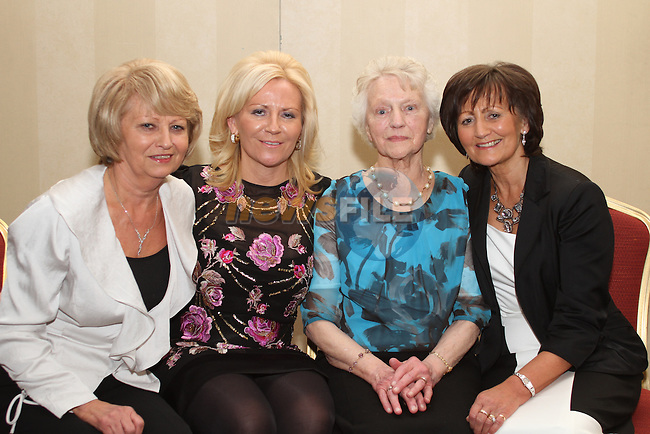 Nancy Delaney with her daughters Margaret, Kathleen an Marie at her 85th birthday in The Westcourt hotel...(Photo credit should read Jenny Matthews www.newsfile.ie)....This Picture has been sent you under the conditions enclosed by:.Newsfile Ltd..The Studio,.Millmount Abbey,.Drogheda,.Co Meath..Ireland..Tel: +353(0)41-9871240.Fax: +353(0)41-9871260.GSM: +353(0)86-2500958.email: pictures@newsfile.ie.www.newsfile.ie.