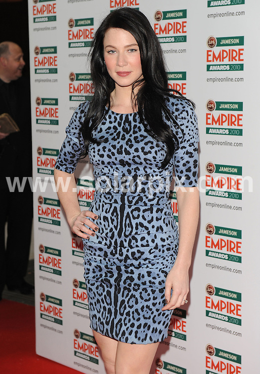 **ALL ROUND PICTURES FROM SOLARPIX.COM**.**WORLDWIDE SYNDICATION RIGHTS**.Red carpet arrivals at the Jameson Empire Awards 2010. Held at Grosvenor House, Mayfair, London, UK. 28 March 2010..This pic: Lynn Collins..JOB REF: 10995 SSD    DATE: 28_03_2010.**MUST CREDIT SOLARPIX.COM OR DOUBLE FEE WILL BE CHARGED**.**MUST NOTIFY SOLARPIX OF ONLINE USAGE**.**CALL US ON: +34 952 811 768 or LOW RATE FROM UK 0844 617 7637**
