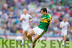 Aidan O'Mahony, Kerry in action against  Kildare in the All Ireland Quarter Final at Croke Park on Sunday.