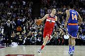 17th January 2019, The O2 Arena, London, England; NBA London Game, Washington Wizards versus New York Knicks; Sam Dekker of the Washington Wizards