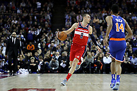 17th January 2019, The O2 Arena, London, England; NBA London Game, Washington Wizards versus New York Knicks; Sam Dekker of the Washington Wizards